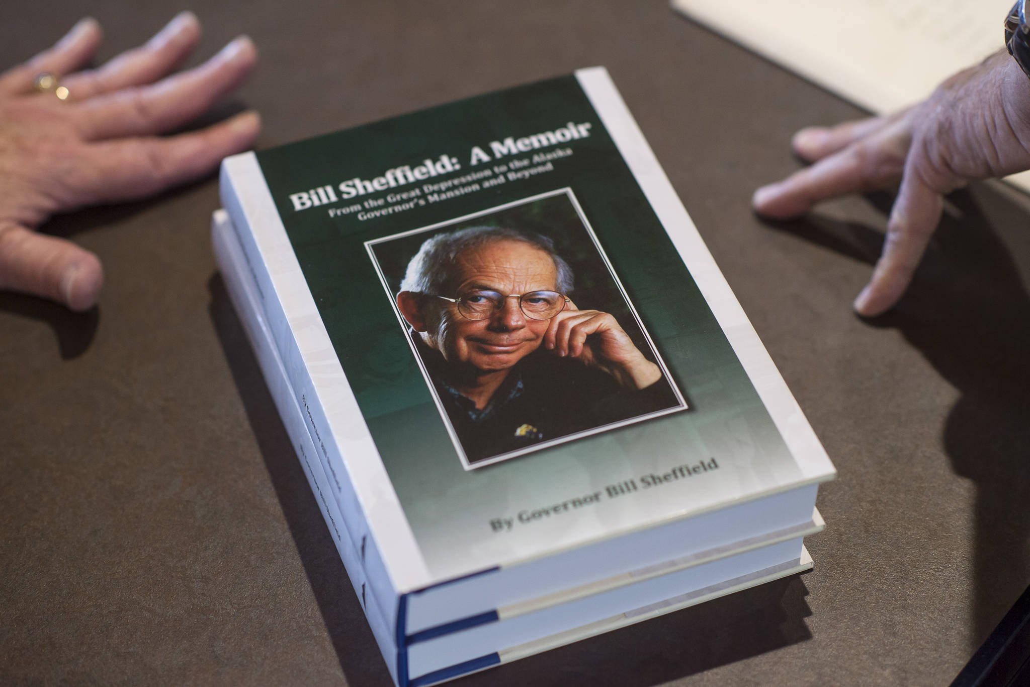 Former Alaska governor Bill Sheffield talks life, time in office and new book