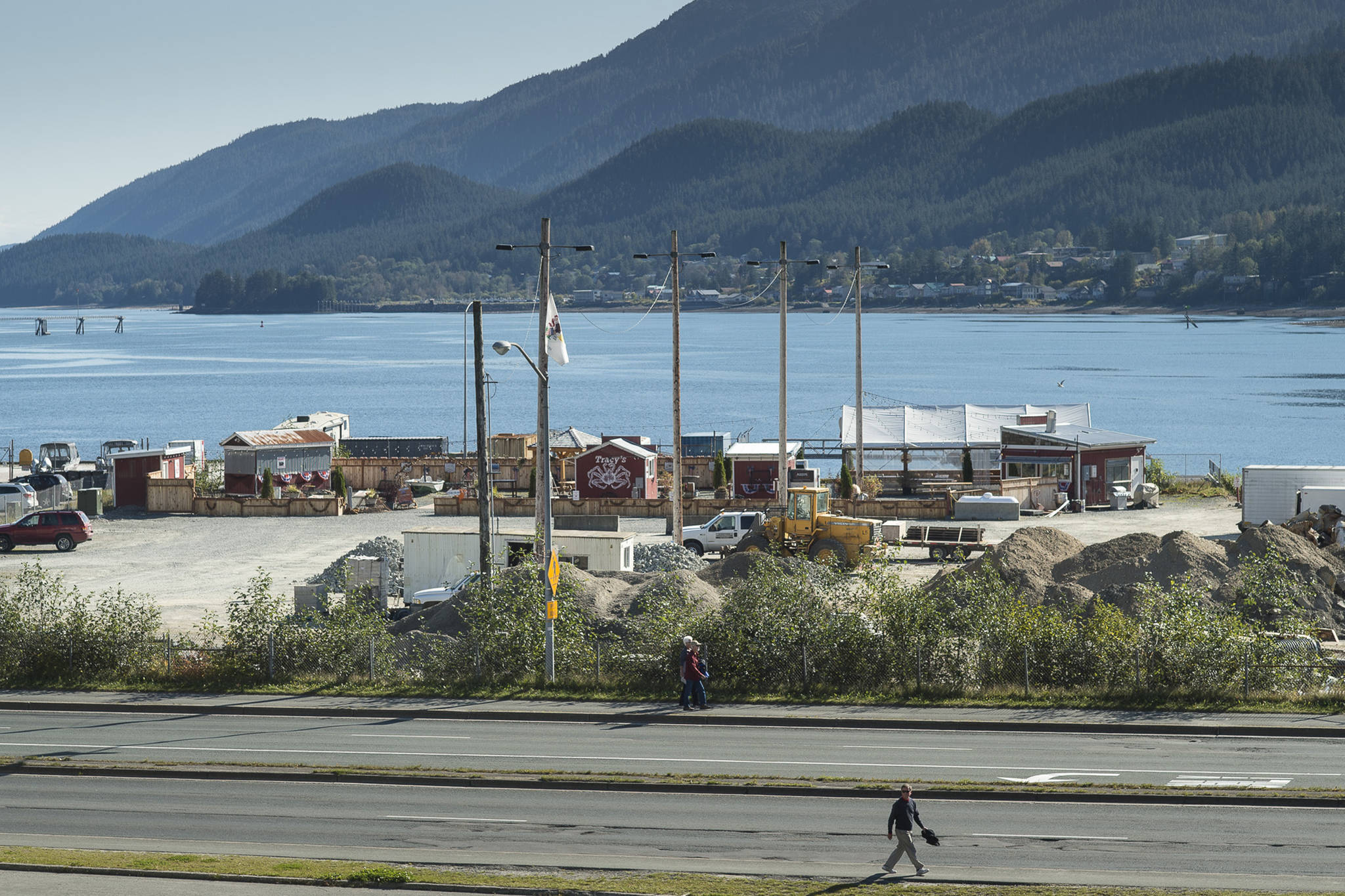 Alaska Mental Health Trust Authority is looking at all options in the sale of the subport land along Juneau downtown waterfront on Monday, Sept. 17, 2018. (Michael Penn | Juneau Empire)