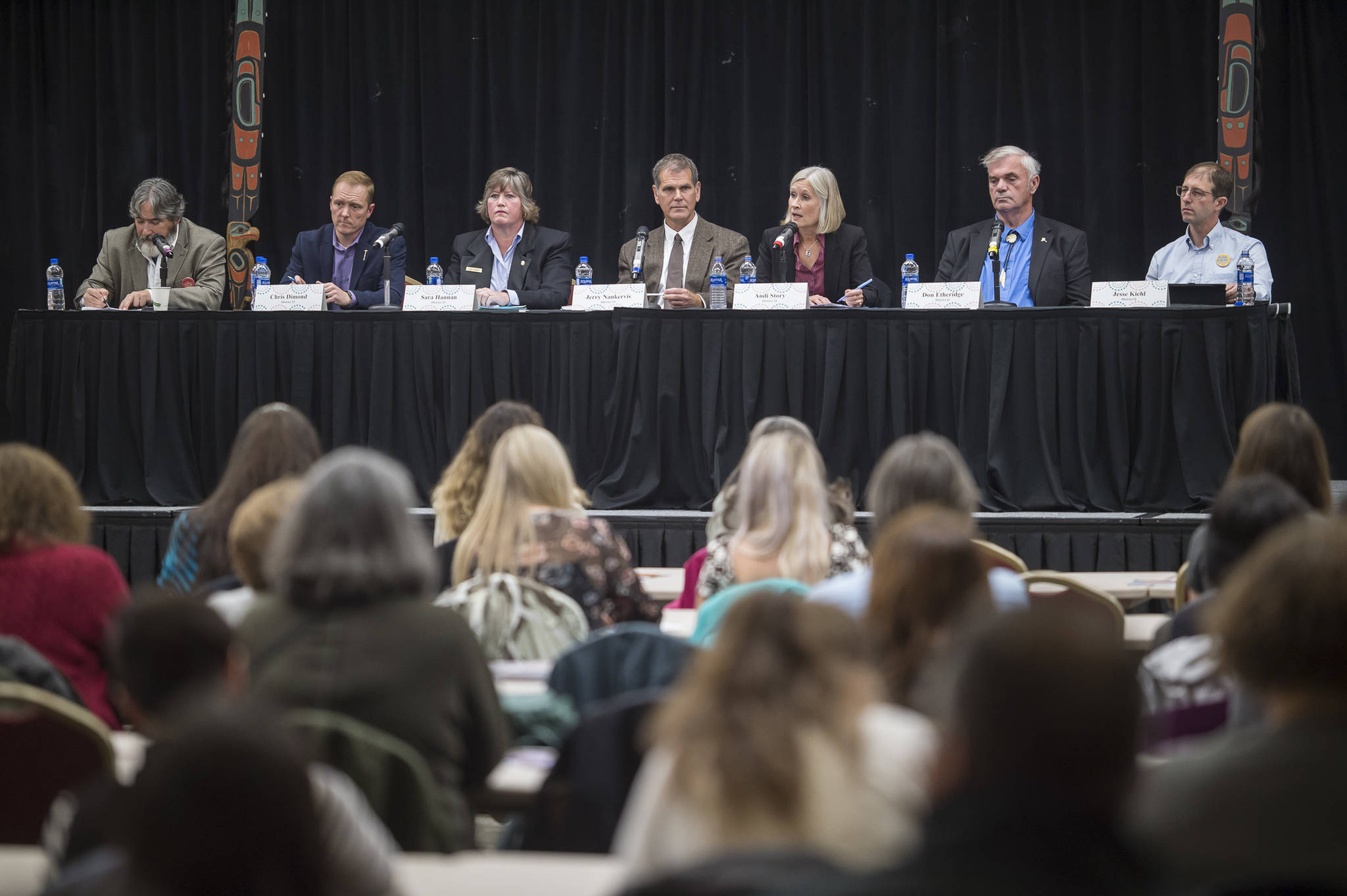 At forum, Southeast candidates say income tax is necessary to defeat Alaska budget deficit