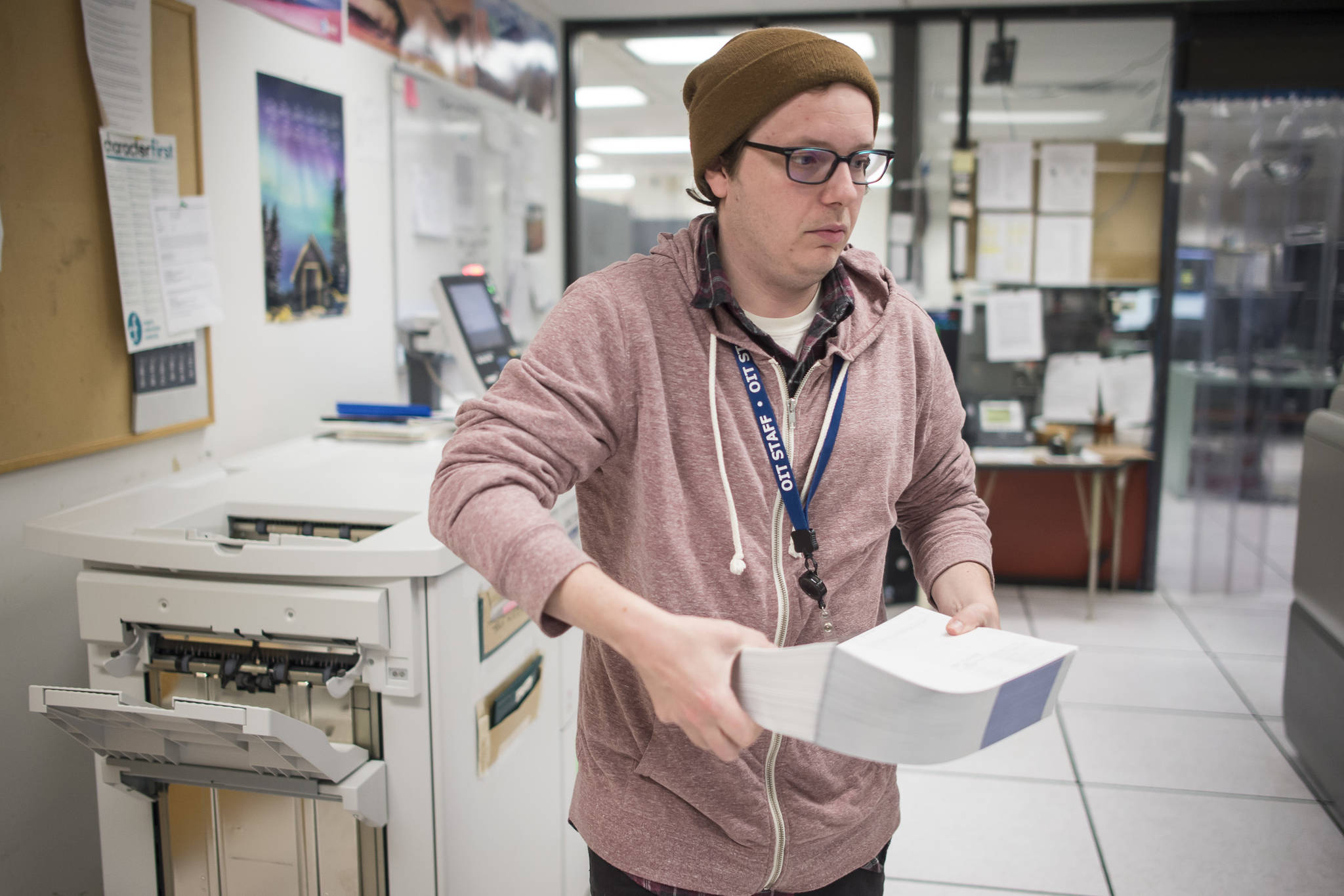 Check it out: Permanent Fund Dividend checks flow from printers this week