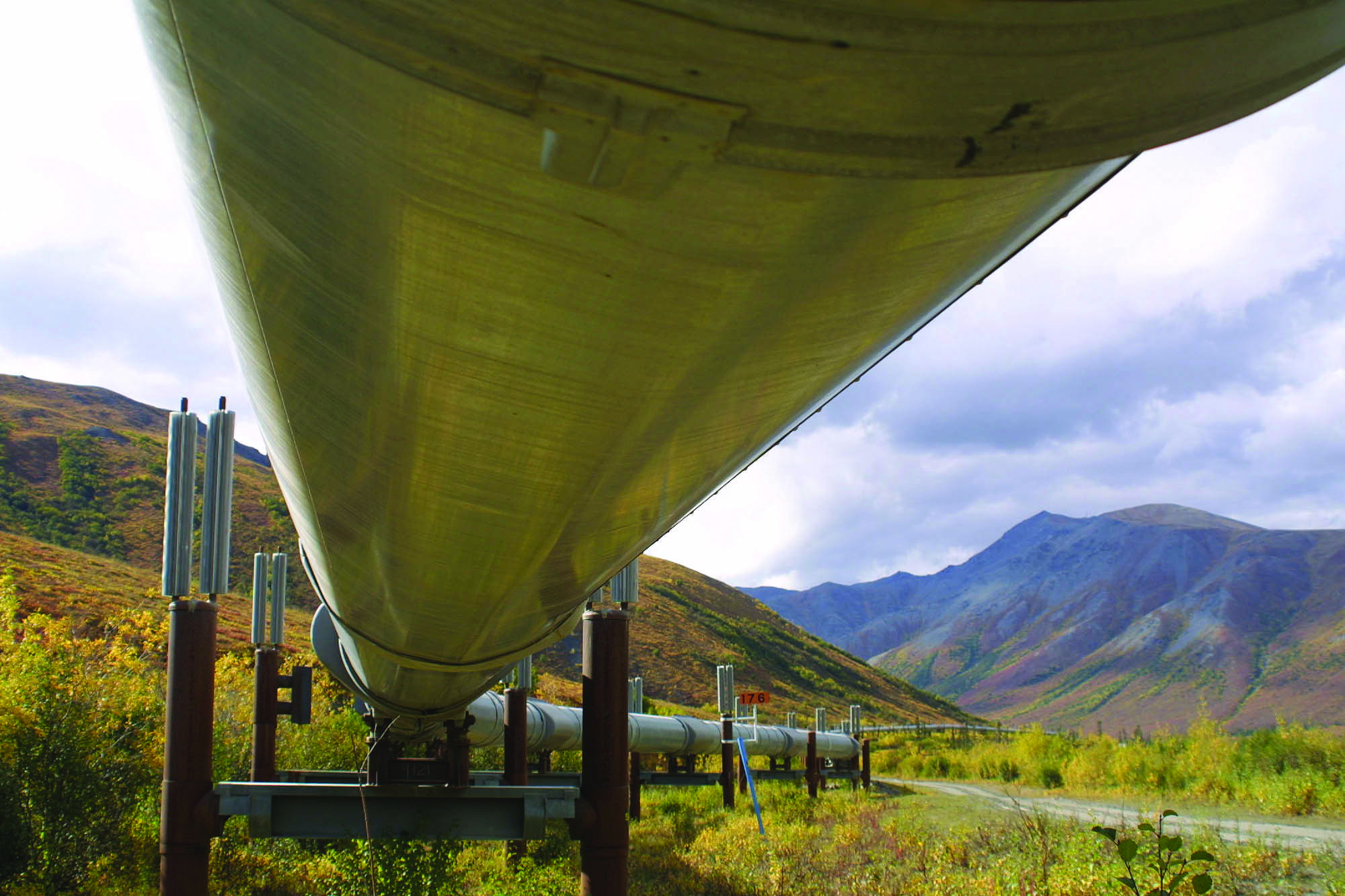 The Trans-Alaska Pipeline. (Photo/File/AP)