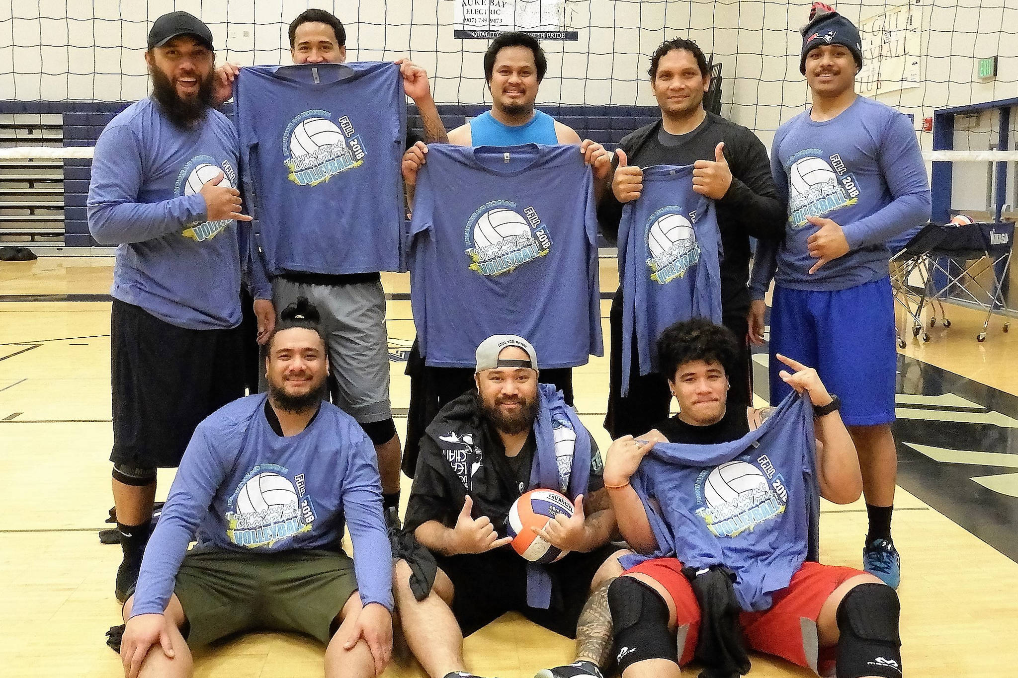 The Juneau Parks and Recreation Men's Division 1 Champions: Island Sons. (Courtesy Photo | Parks and Recreation)