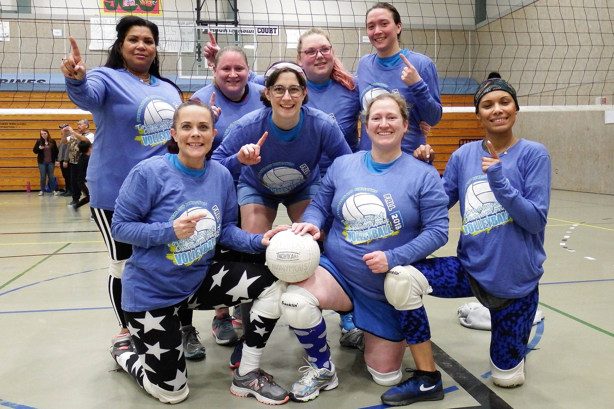 The Juneau Parks and Recreation Women's Division 3 South Champions: The Freudian Slips. (Couresy Photo | Parks and Recreation)