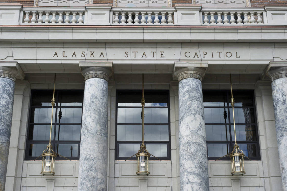 The Alaska State Capitol. (Michael Penn | Juneau Empire File)