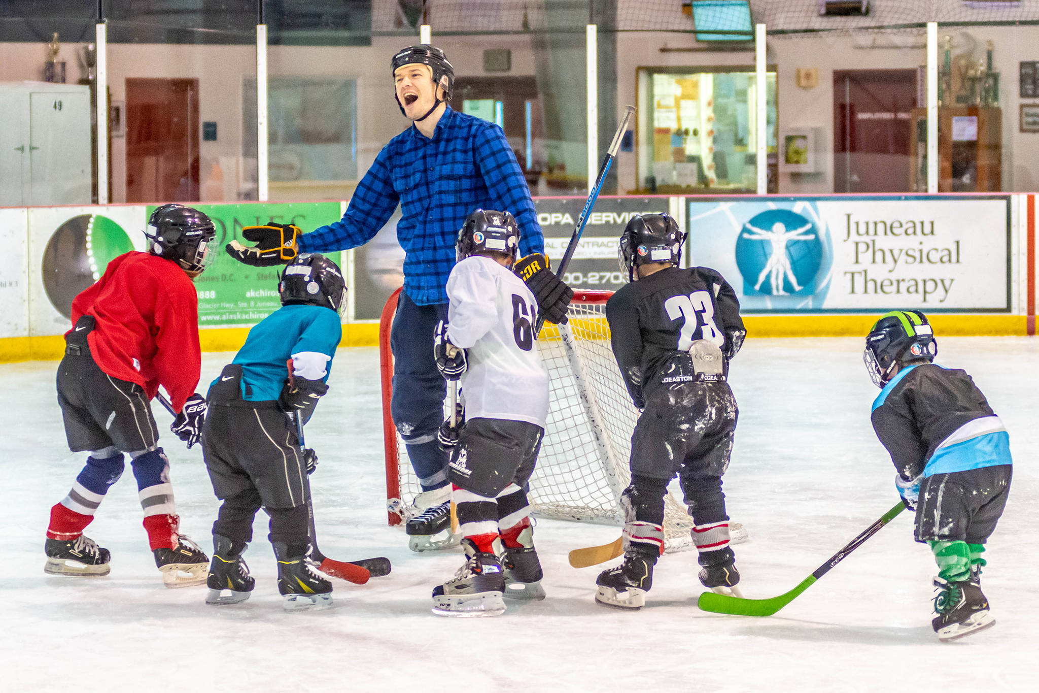 Students of the game: Intro hockey classes in full swing