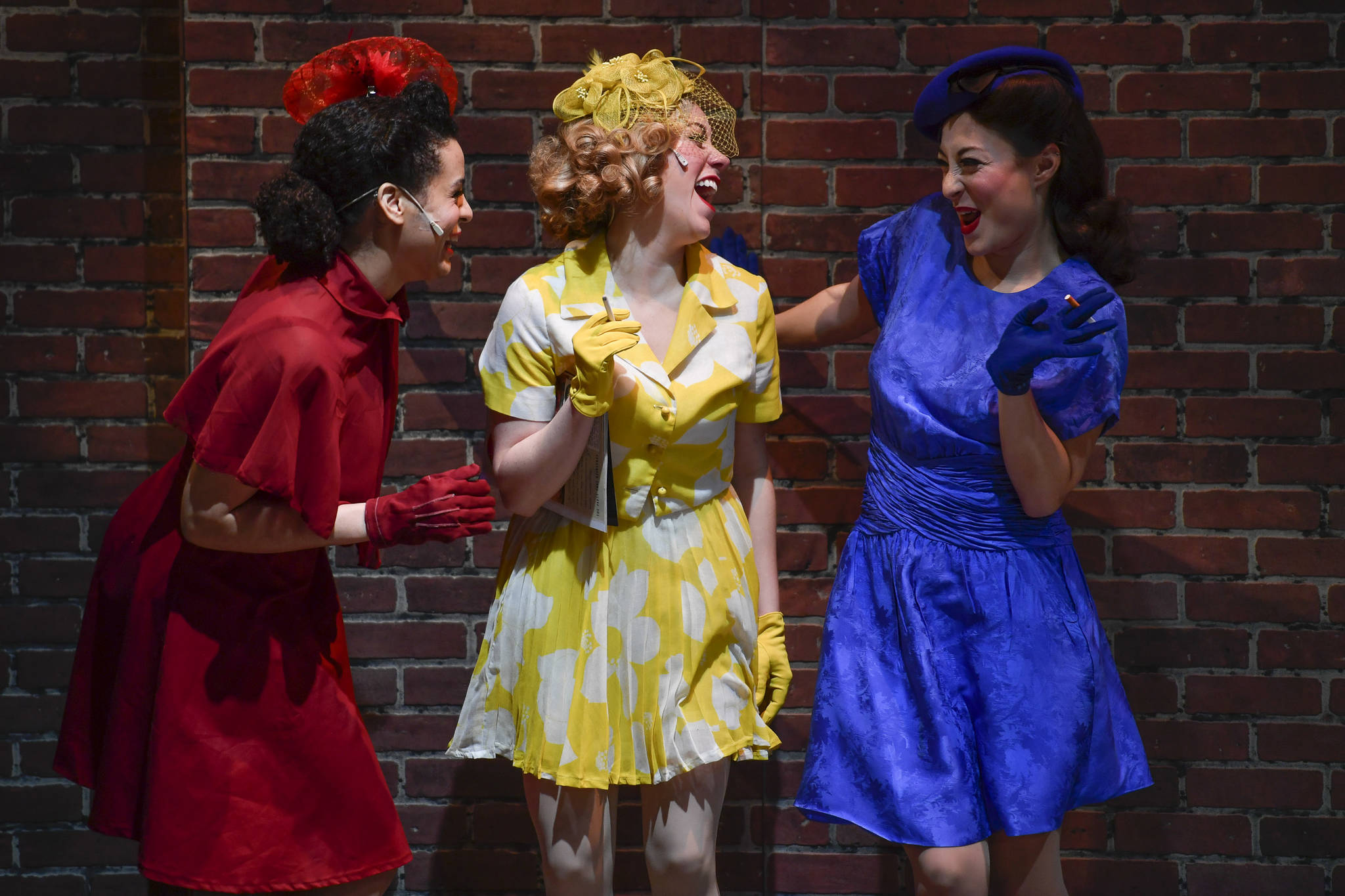 "A performance of ""Guys and Dolls"" at Perseverance Theatre on Thursday, March 14, 2019. (Michael Penn 