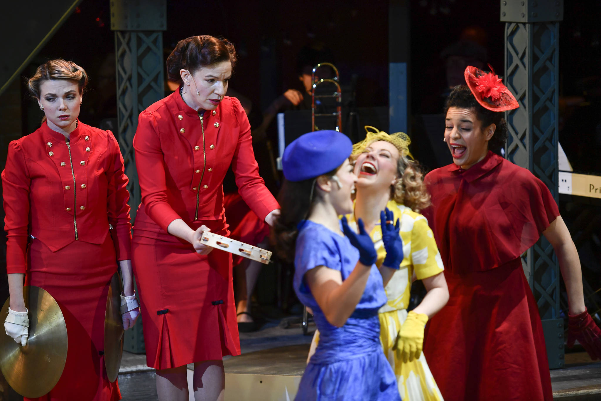 """A performance of """"Guys and Dolls"""" at Perseverance Theatre on Thursday, March 14, 2019. (Michael Penn 