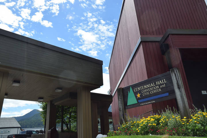 Centennial Hall during the afternoon on Monday, July 2, 2018. (Gregory Philson | Juneau Empire File)