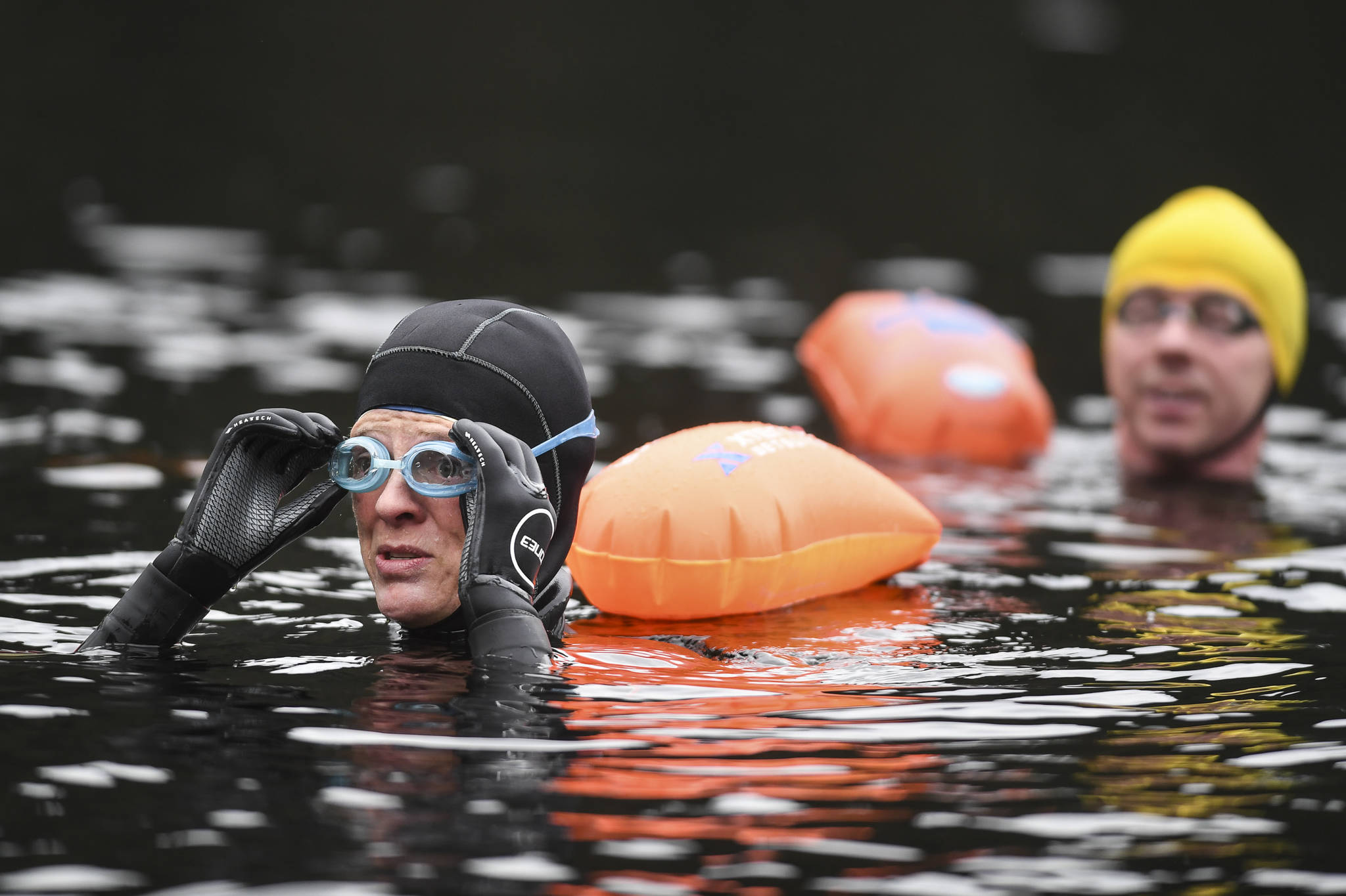 Serenity in the dark: How Auke Lake became a go-to swimming destination
