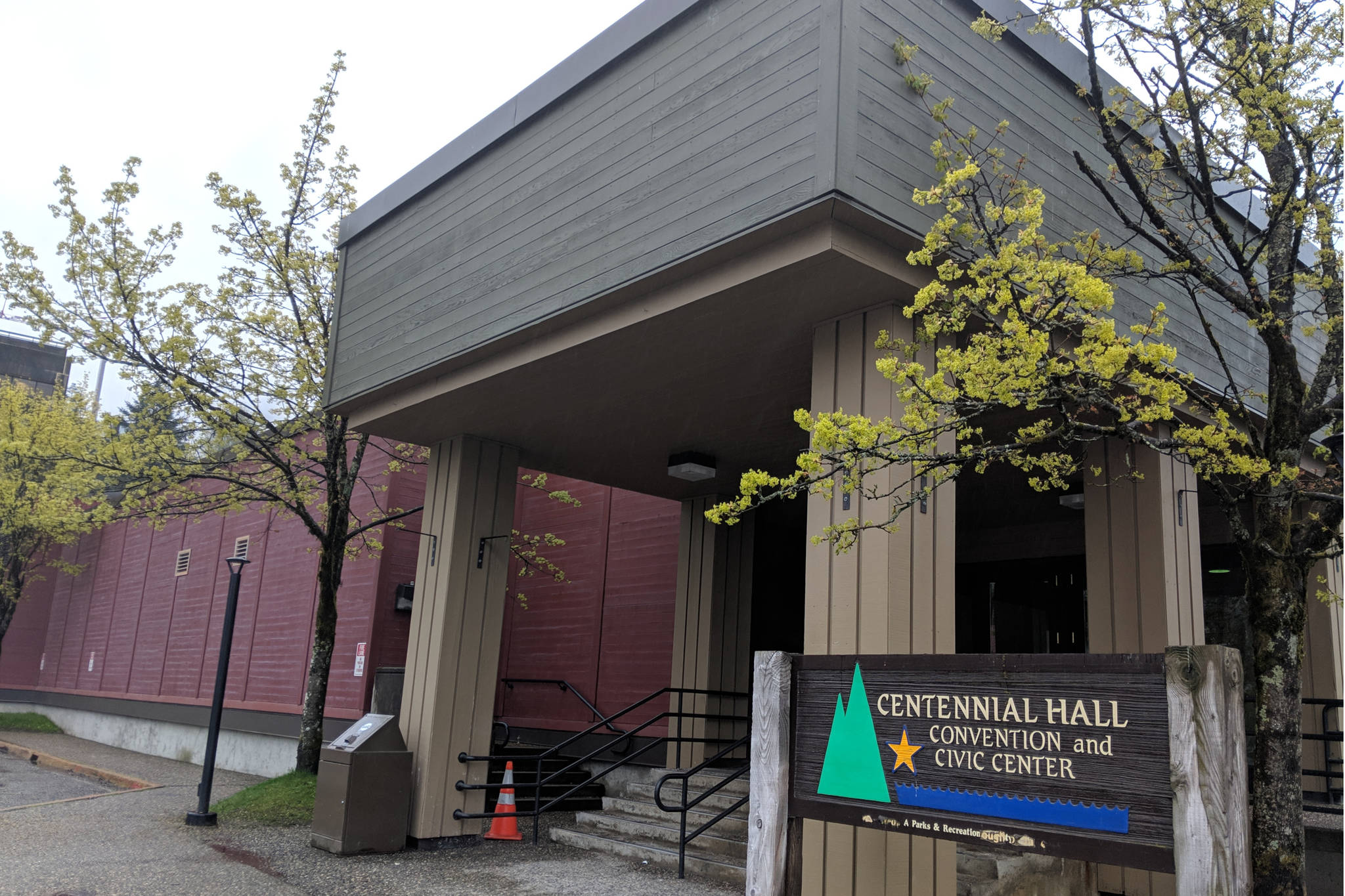 Centennial Hall's needs are one of the main points of tonight's meeting. (Ben Hohenstatt | Juneau Empire)