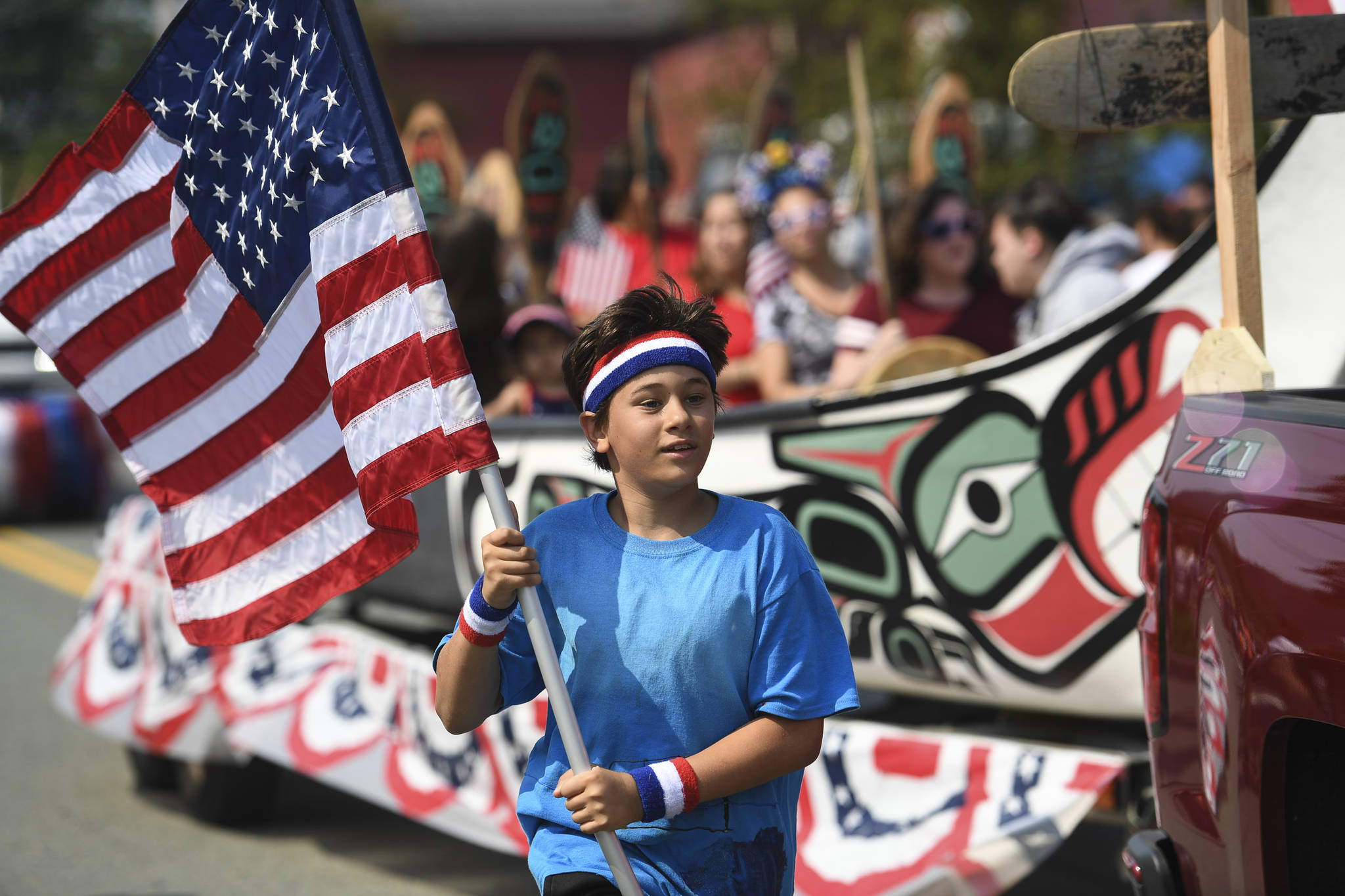 Douglas Fourth of July Parade on Thursday, July 4, 2019. (Michael Penn | Juneau Empire)