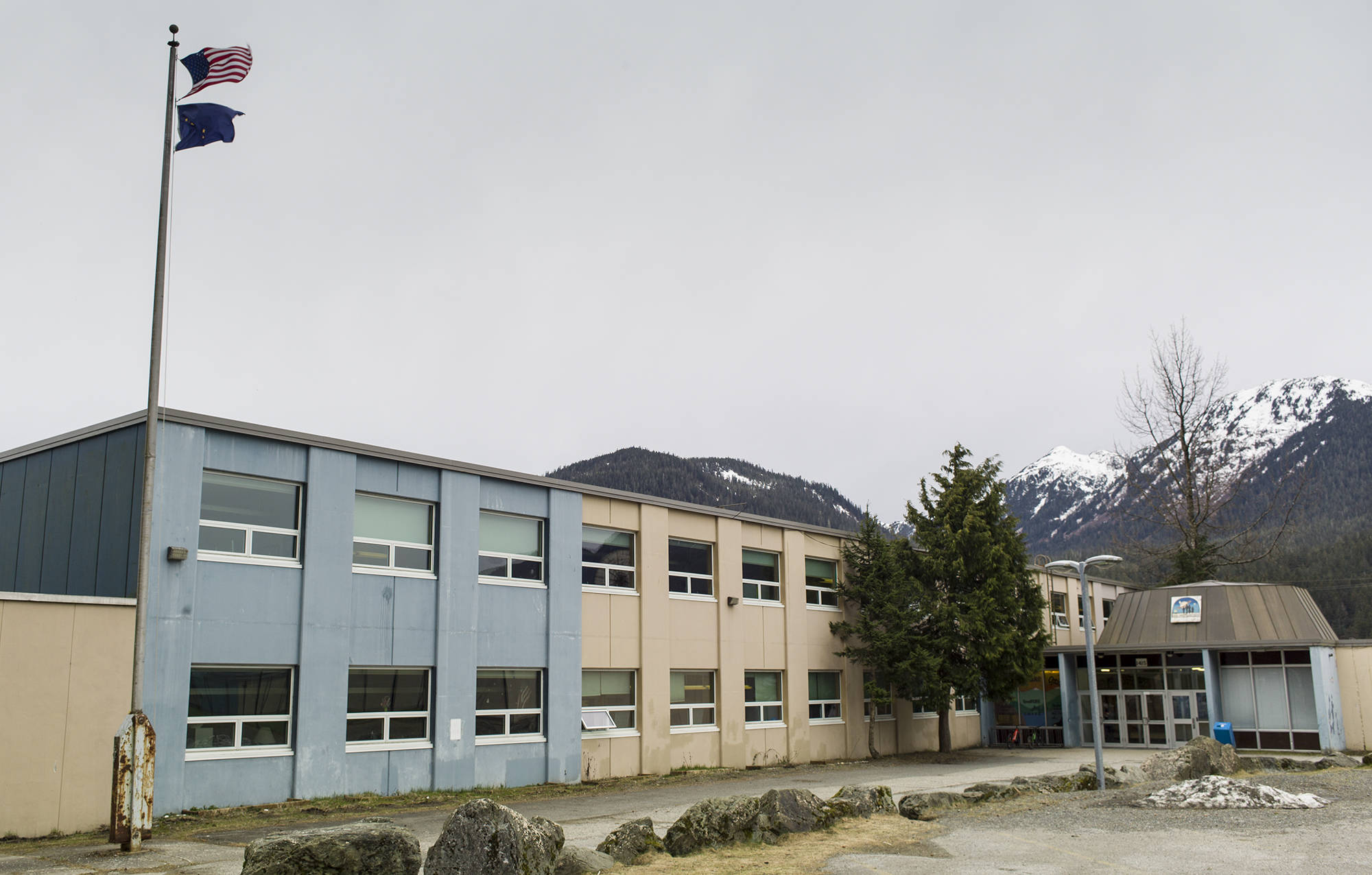 The Marie Drake Building is the Juneau school in the most need of an update. (Michael Penn | Juneau Empire)