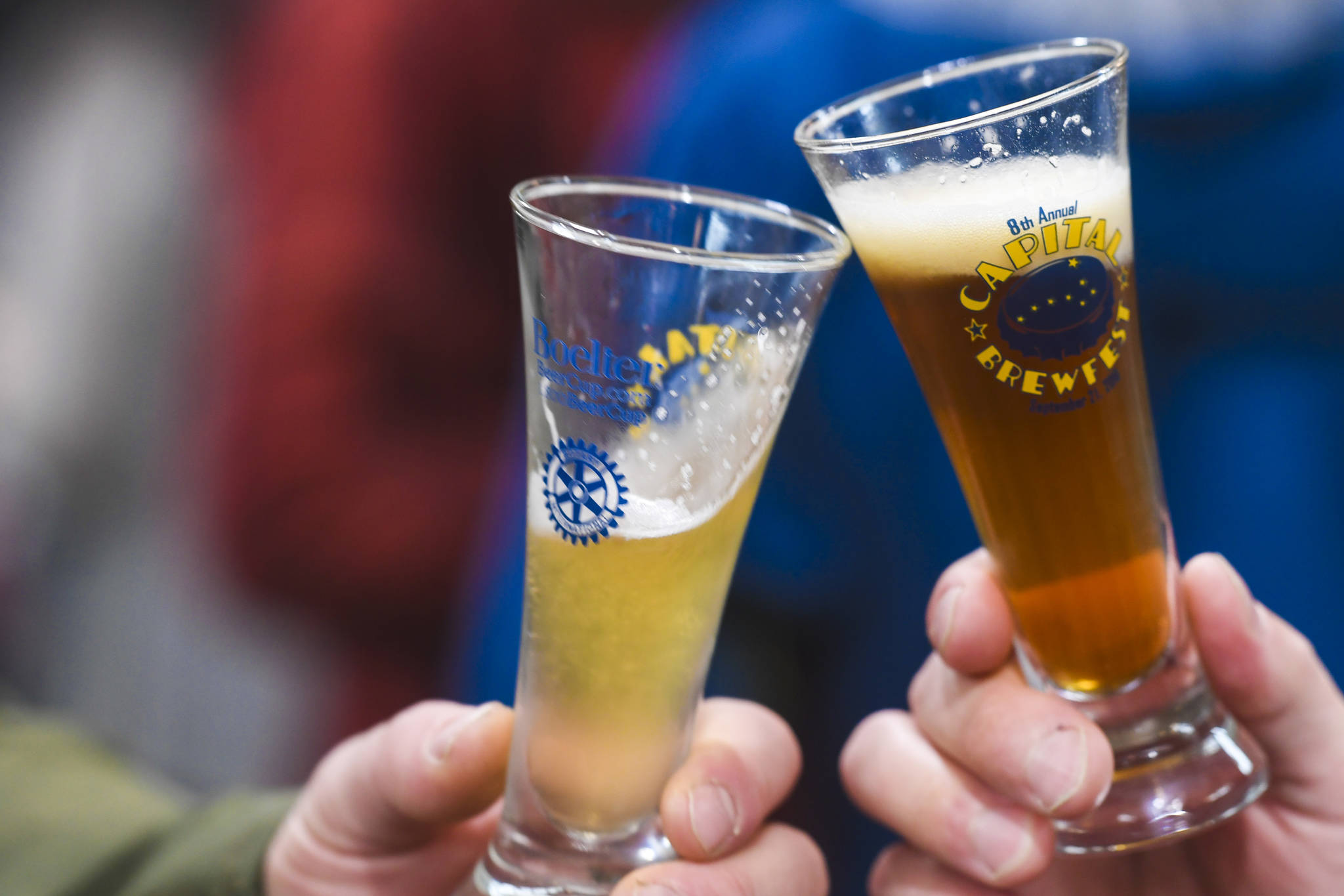 Juneau residents turn out for the Rotary Club of Juneau's Eighth Annual Capital Brewfest at the Juneau Arts and Culture Center on Saturday, Sept. 21, 2019. Twenty brewing and distribution companies were on hand for the fundraiser to benefit the University of Alaska and Rotary's service projects, scholarships, international youth exchanges and other project. The event was sold out with 900 tickets sold. (Michael Penn | Juneau Empire)