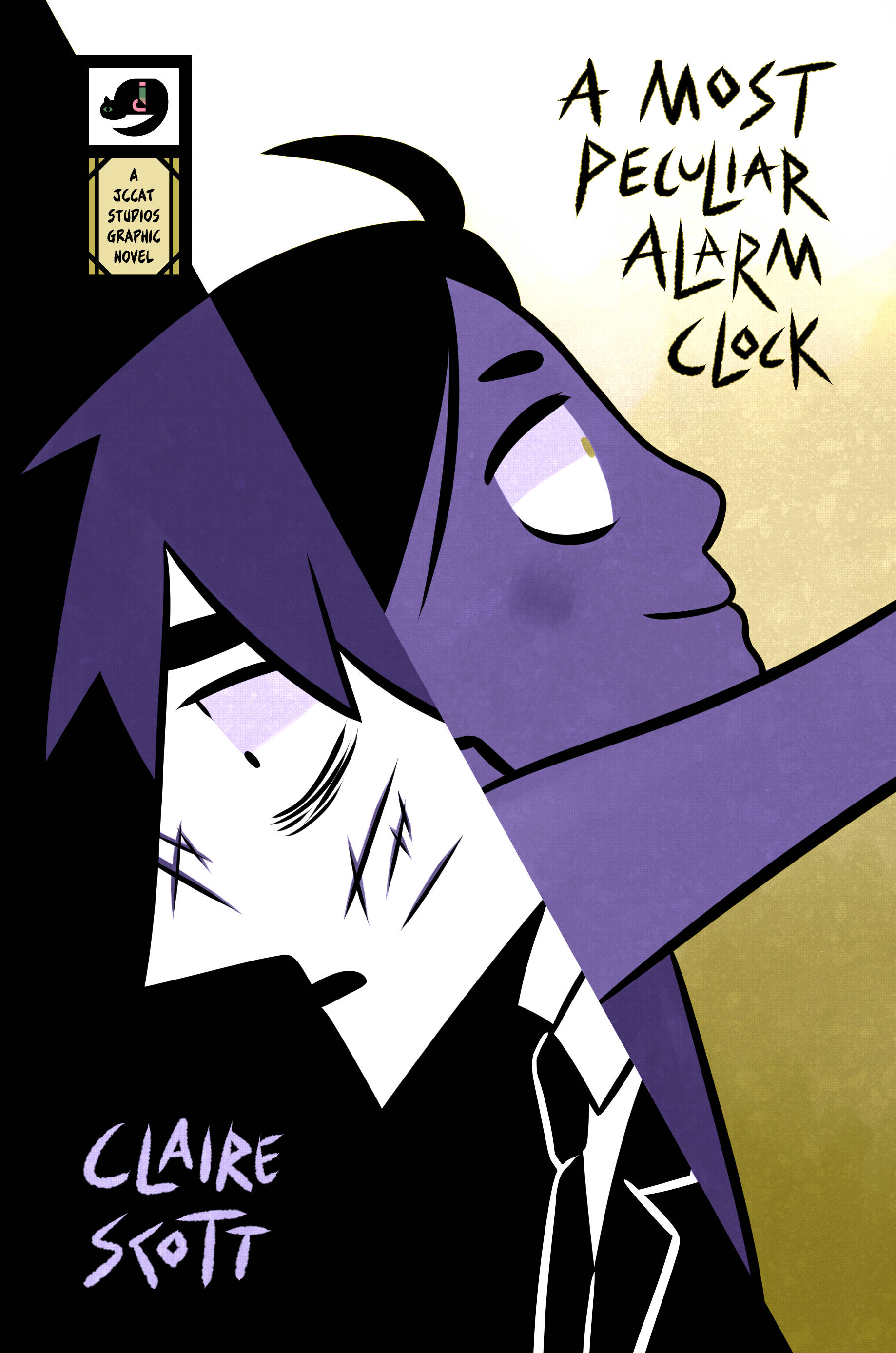 """""""A Most Peculiar Alarm Clock,"""" a new graphic novel by Claire Scott, tells the story of an unlucky man that comes into possession of the titular alarm clock. Scott said a classic """"Twilight Zone"""" segment influence the story. (Courtesy Photo 
