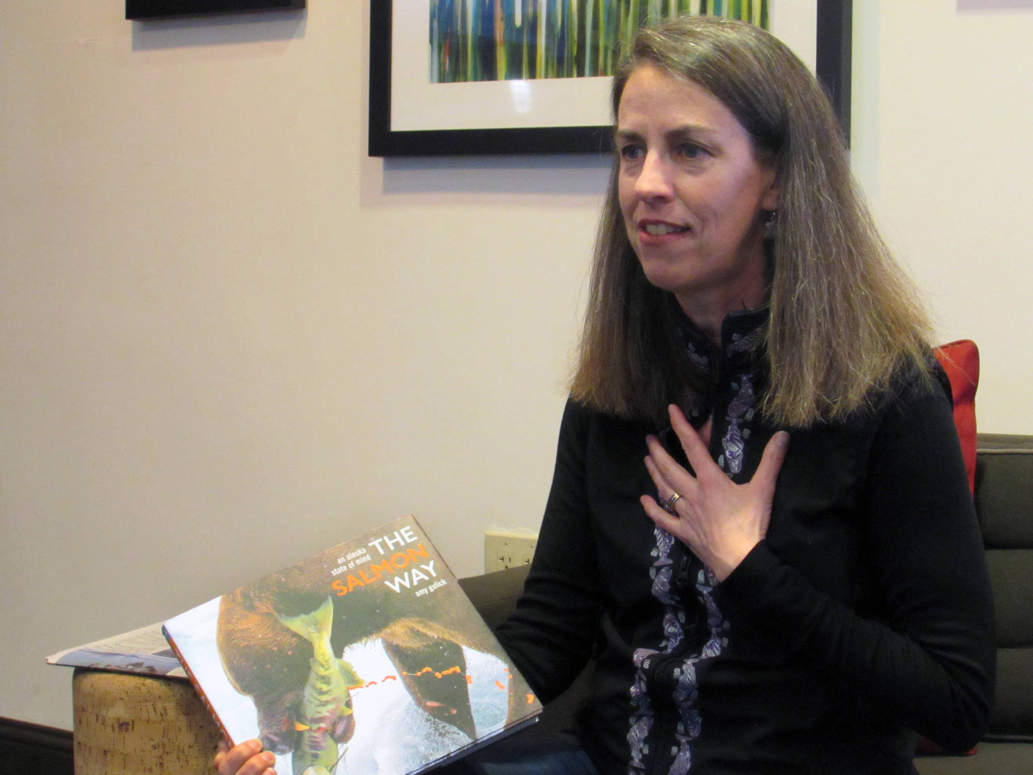 Author talks salmon, education conference approaches and more