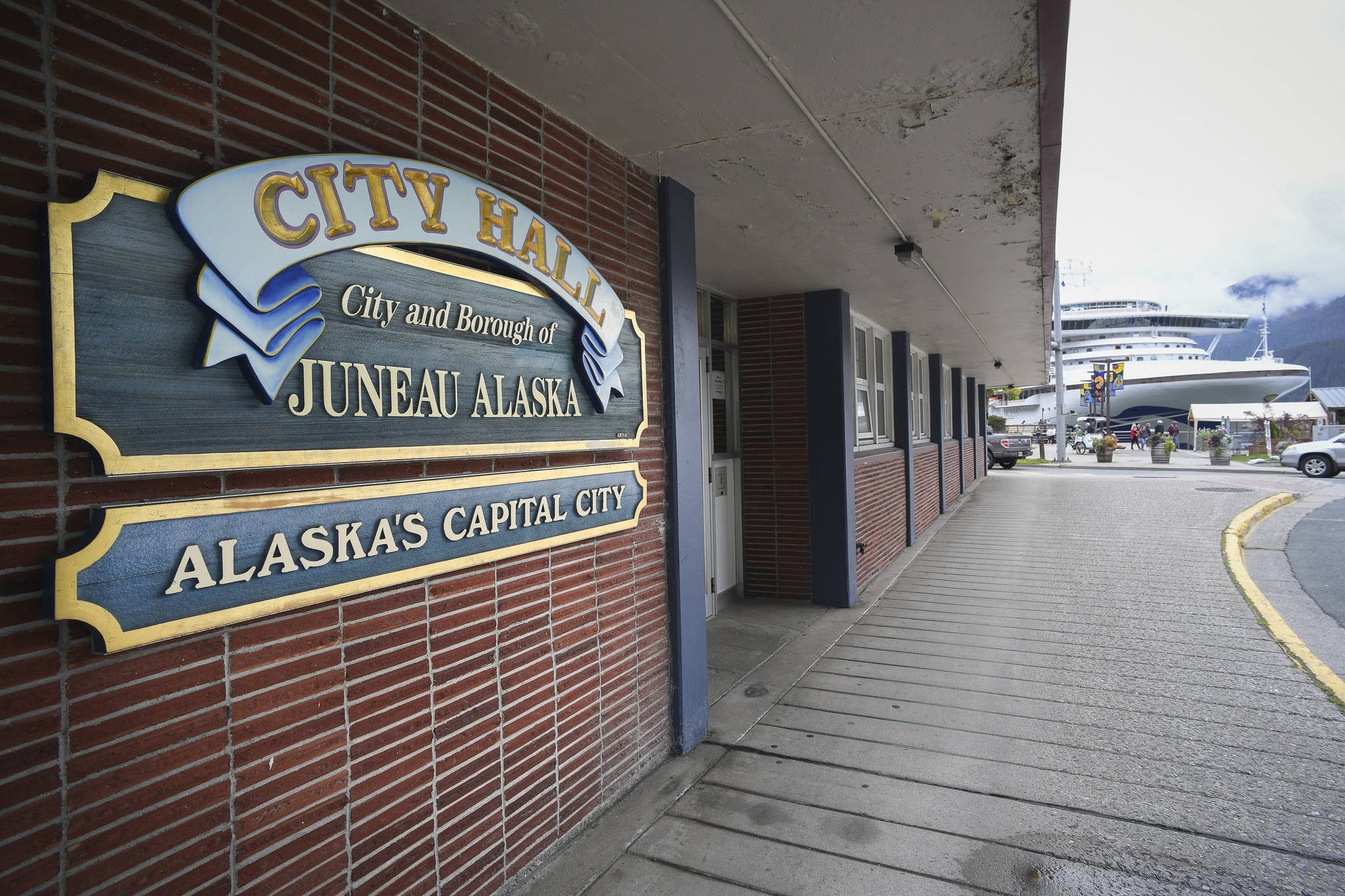 Juneau's City Hall on Wednesday, Sept. 4, 2019. (Michael Penn | Juneau Empire File)