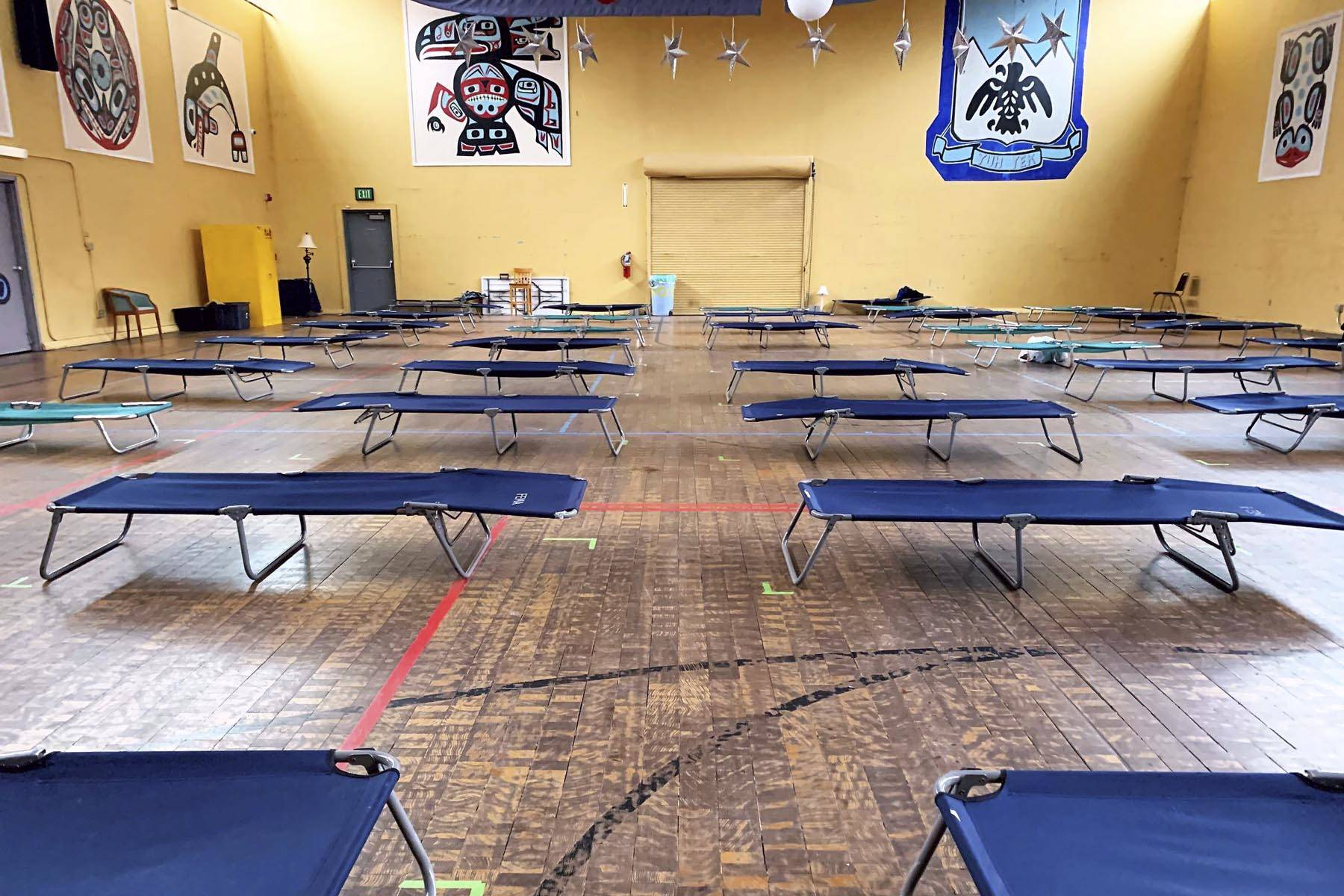 The Juneau Arts and Culture Center is being used as a shelter for Juneau residents experiencing homelessness in the face of the coronavirus. (Courtesy photo | City and Borough of Juneau)