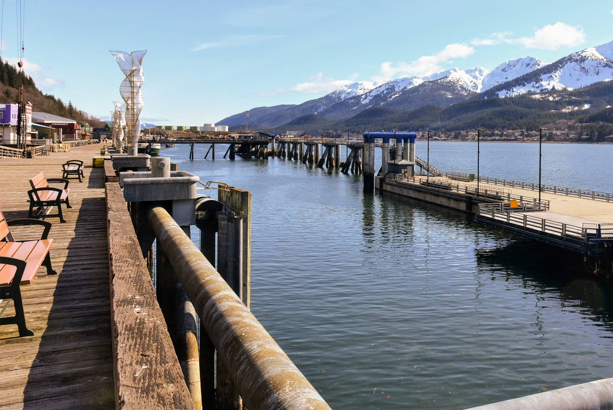 Peter Segall | Juneau Empire                                  Lack of cruise ships relying on shore power from Alaska Electric Light and Power will not affect customers, said an AEL&P official June 29, 2020.