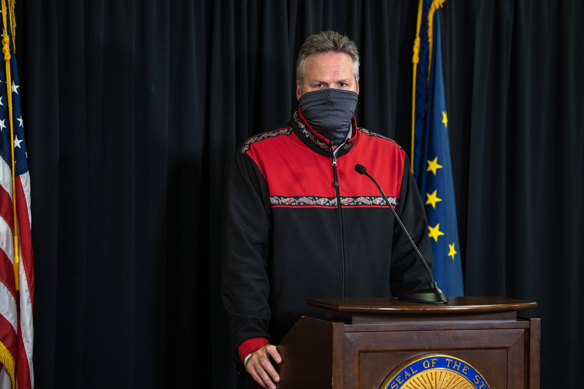 Watch: Dunleavy dicusses CARES Act funding