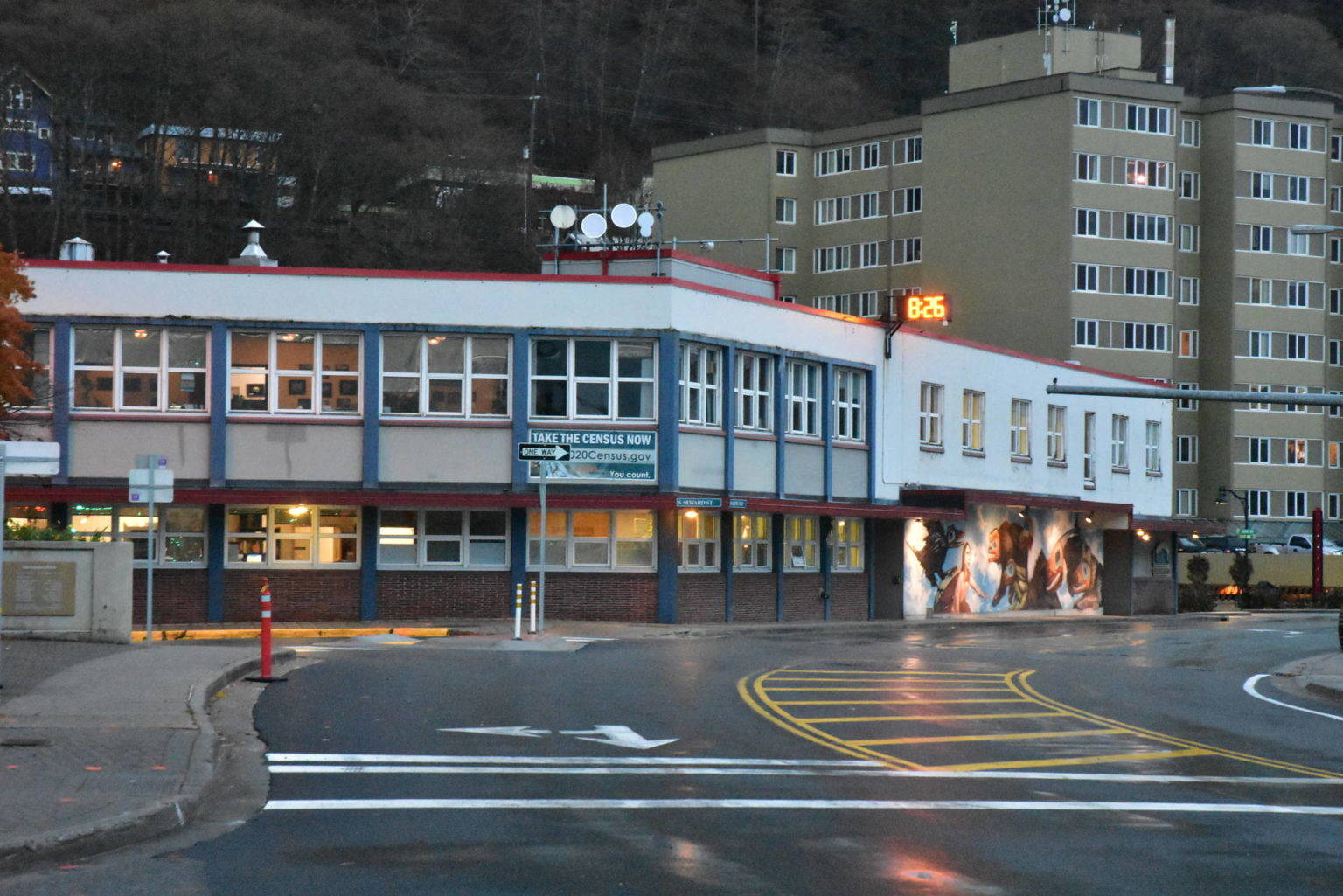 This photo shows Juneau City Hall on Tuesday, Oct. 24. The City and Borough of Juneau passed an ordinance requiring the confidential disclosure to the city assessor's office of the sales price of real estate transactions in the borough which went into effect Monday, Nov. 30. (Peter Segall / Juneau Empire)