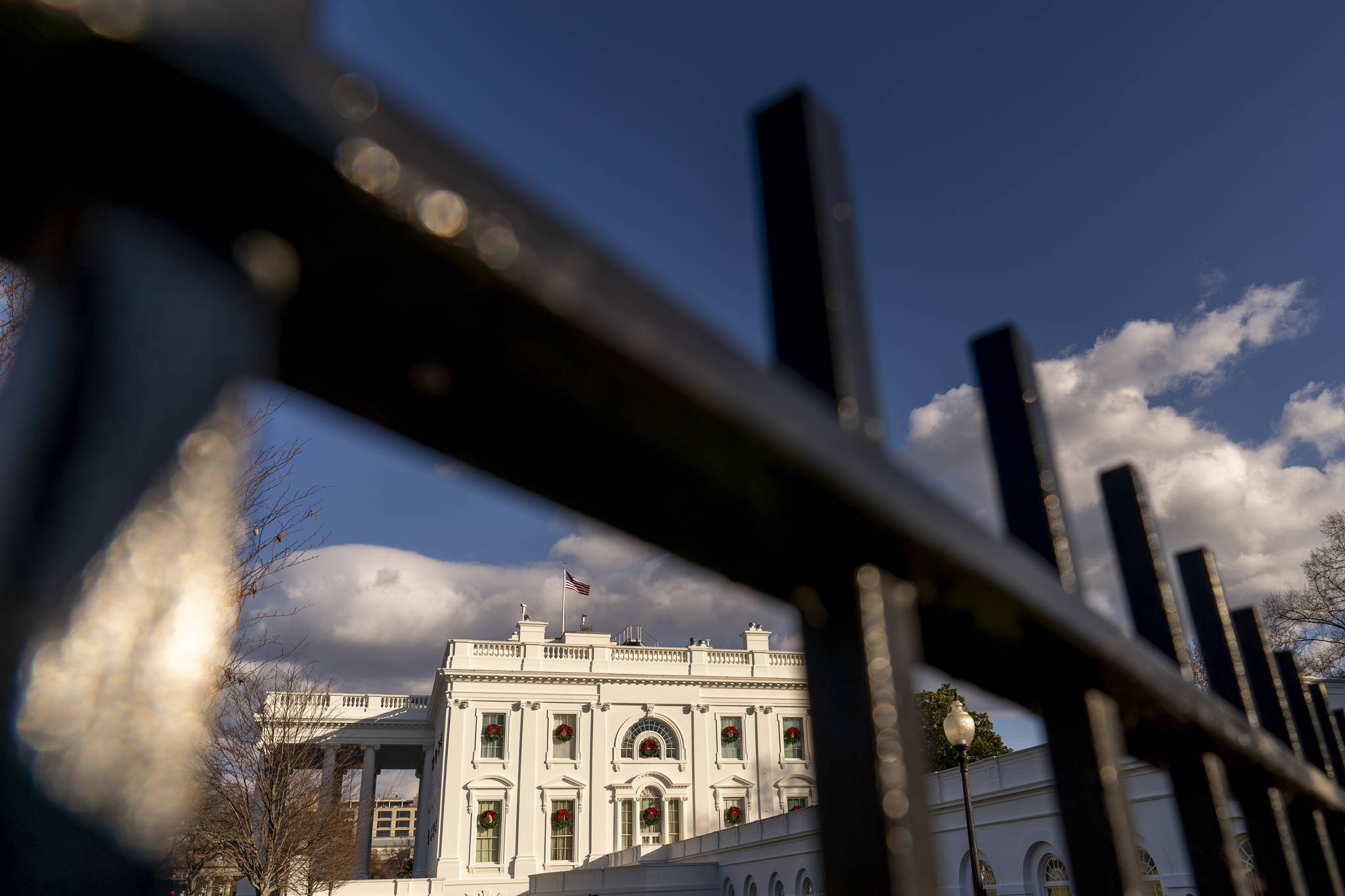 A view of the White House, Tuesday, Dec. 22, 2020, in Washington. (AP Photo / Andrew Harnik)