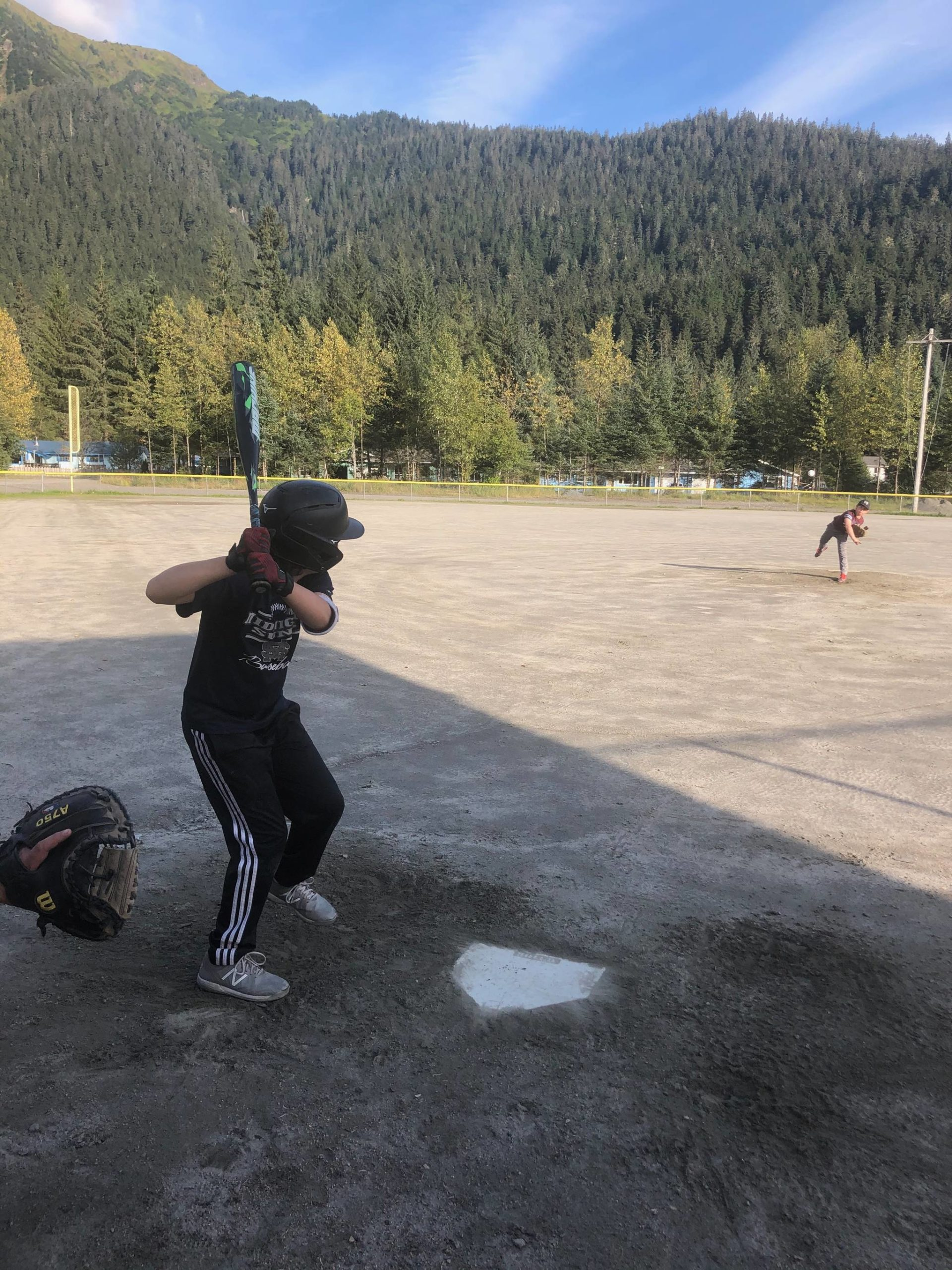 After COVID-19 sidelined a competitive season last summer, local players gathered to play sandlot ball. Thanks to a city-approved COVID-19 mitigation plan, the Gastineau Channel Baseball and Softball Leagues are planning a full, competitive season this summer. The season is expected to begin in March or April, depending on field conditions. (Courtesy photo/Geoff Kirsch)