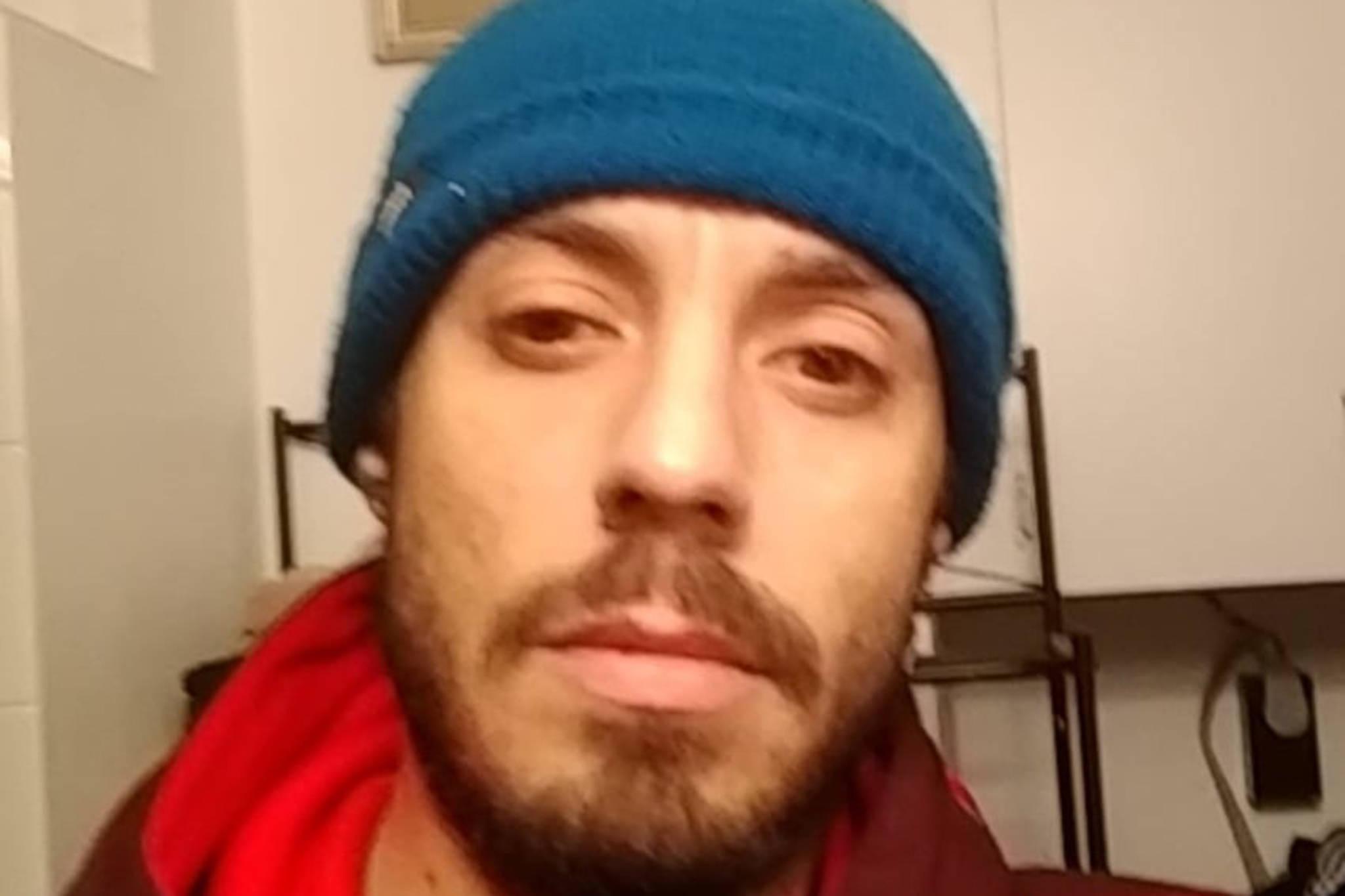 """This photo shows Joseph """"Joey"""" Ryan Schultz who police say has multiple outstanding warrants related to violating the conditions of his release. (Courtesy Photo / Juneau Police Department)"""