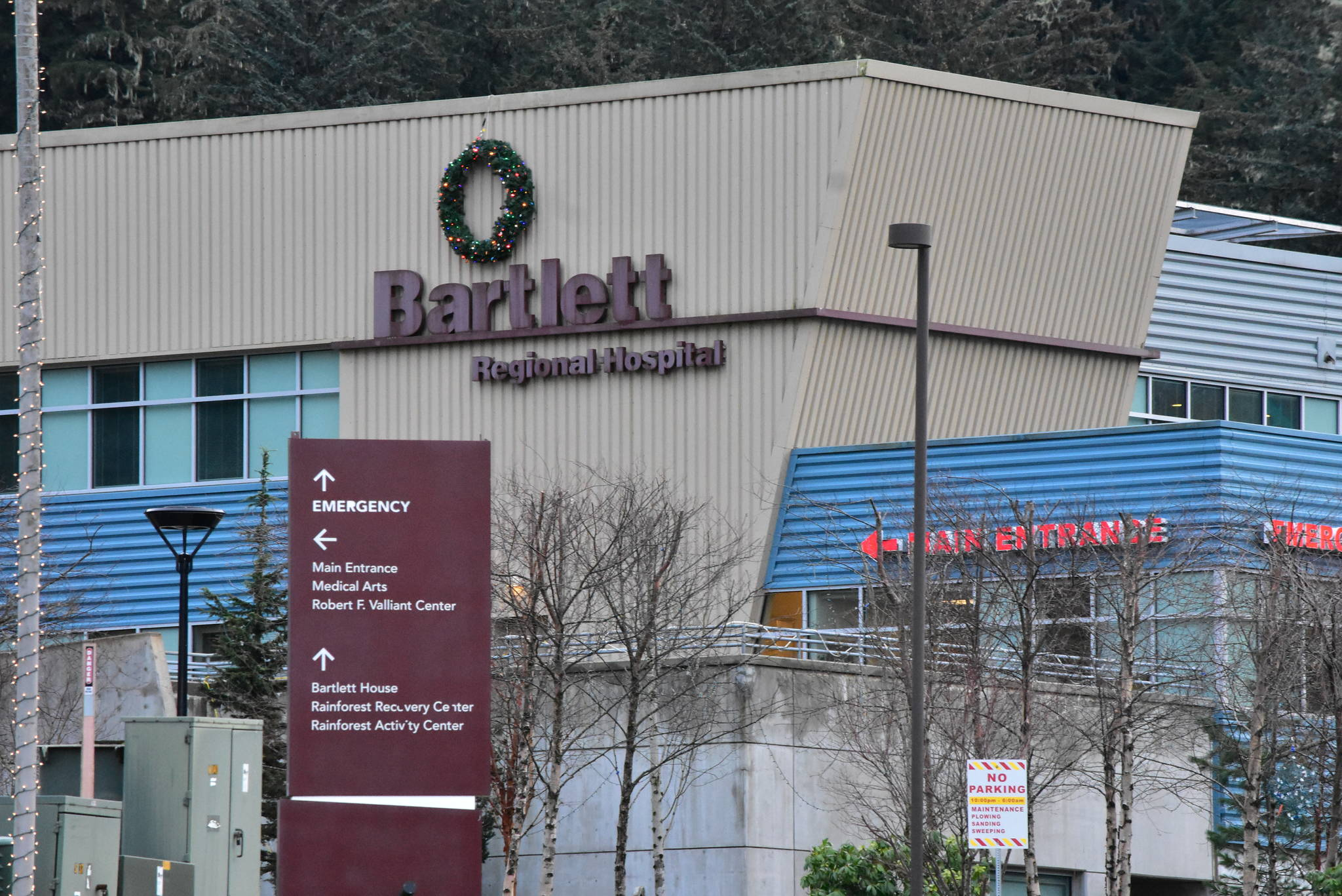 Staff at Bartlett Regional Hospital, seen here on Thursday, Dec. 10, 2020, will be among some of the first to receive a vaccine for COVID-19 once federal authorities give the go-ahead. (Peter Segall / Juneau Empire File)