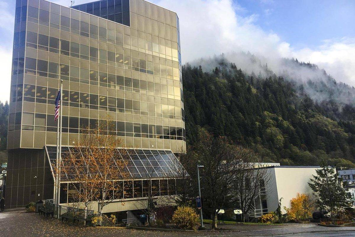 A man charged with assault at Fred Meyer on Jun. 1, 2020 was acquitted after a trial last week at the Dimond Courthouse, shown here on Oct. 20, 2019. (Michael S. Lockett / Juneau Empire)