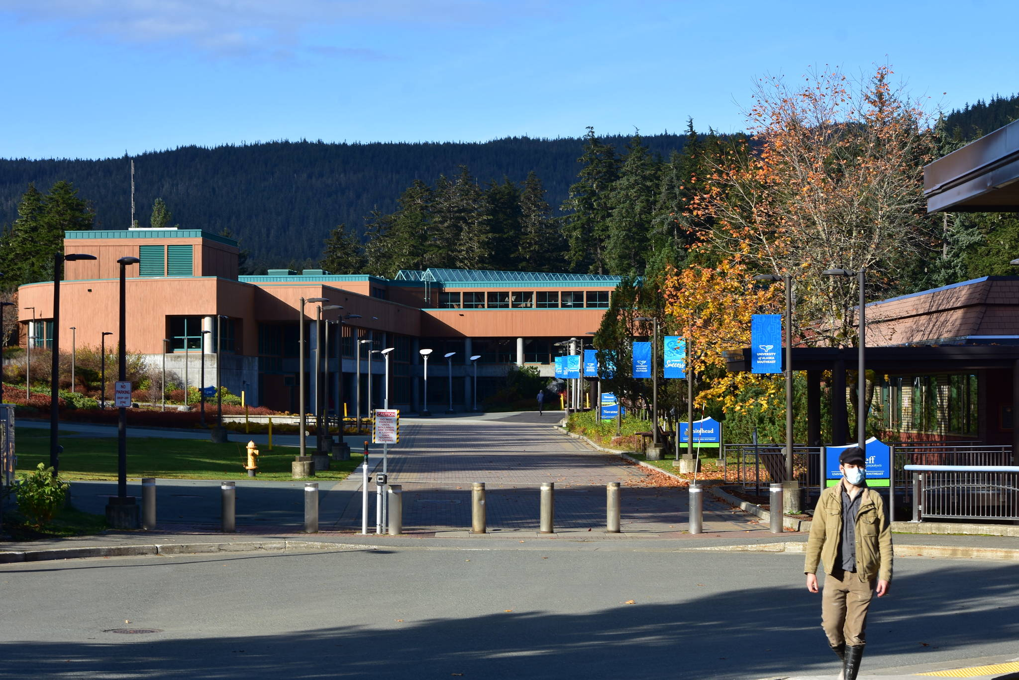 University officials are hoping that increased collaboration between the University of Alaska's three schools of education will result in more Alaskans becoming teachers. The Univerity of Alaska Southeast, seen here in this October 2020 file photo, offers teacher training and retention programs. (Peter Segall / Juneau Empire file)
