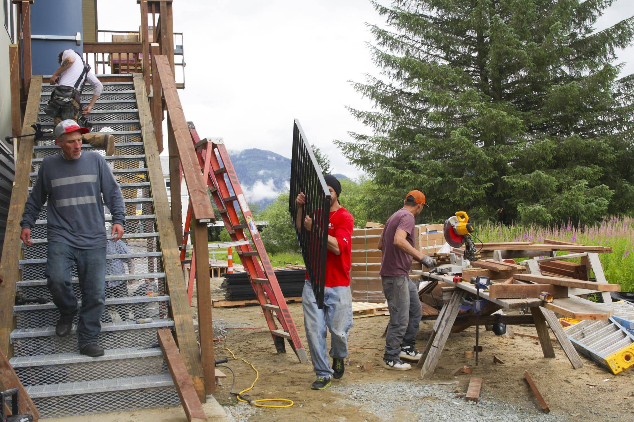 Michael S. Lockett / Juneau Empire  The new Glory Hall, located near the airport, is set to open on Thursday, July 22, 2021. It will form a component of a growing social services campus.