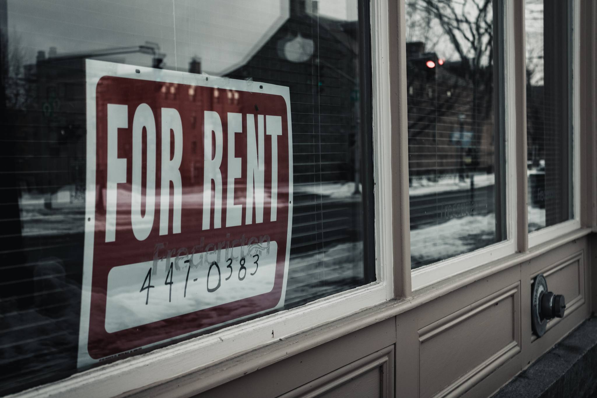 The federal moratorium on evictions ended on July 31, 2021, and though rent-relief dollars are still being sent out there's some concerns the number of evictions could rise. (Aaron Sousa / Unsplash)