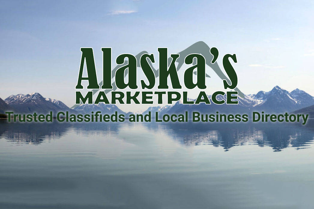 Visit www.alaskasmarketplace.com to list classifieds and browse the local business directory. It's a new online marketplace, made by Alaskans for Alaskans.