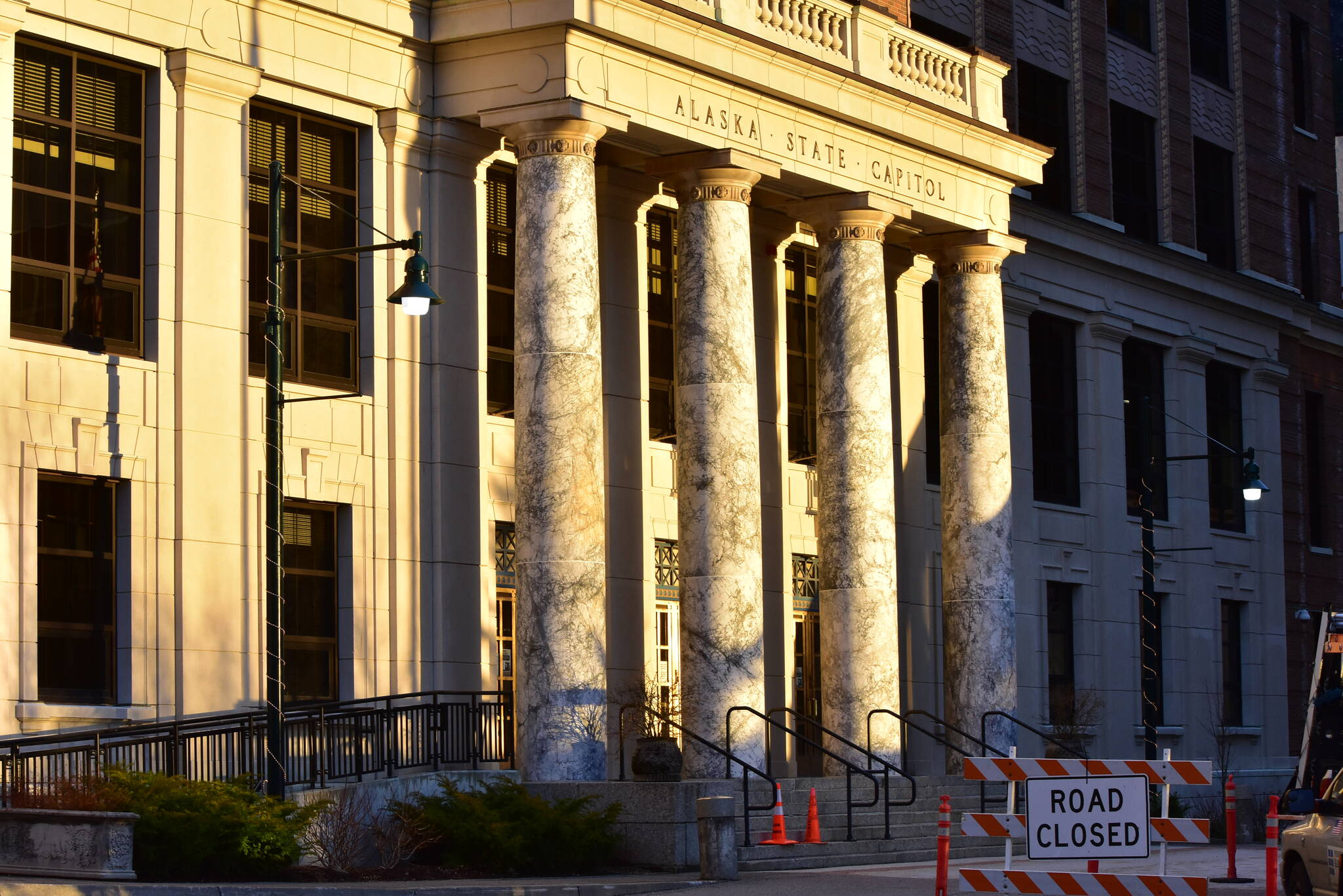 Lawmakers are set to meet in the Alaska State Capitol today, the last day of the state Legislature's third special session. Multiple debates, including the size of this year's Permanent Fund dividend. (Peter Segall / Juneau Empire File)