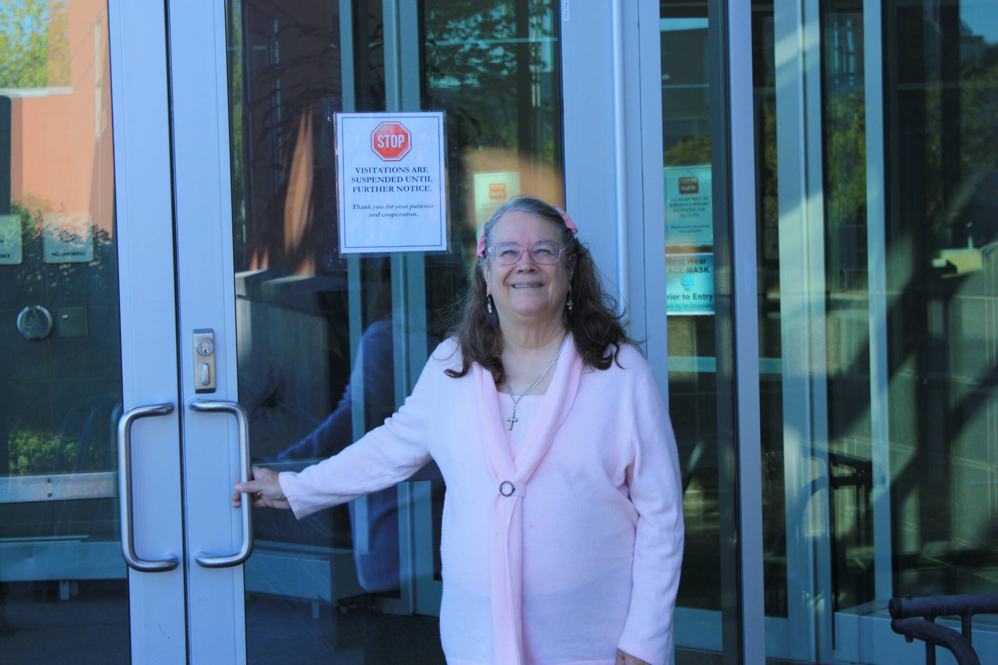Faith Myers stands at the doors of API. (Courtesy Photo)
